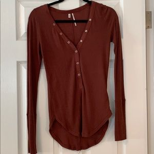 Urban Outfitters long sleeve thermal top